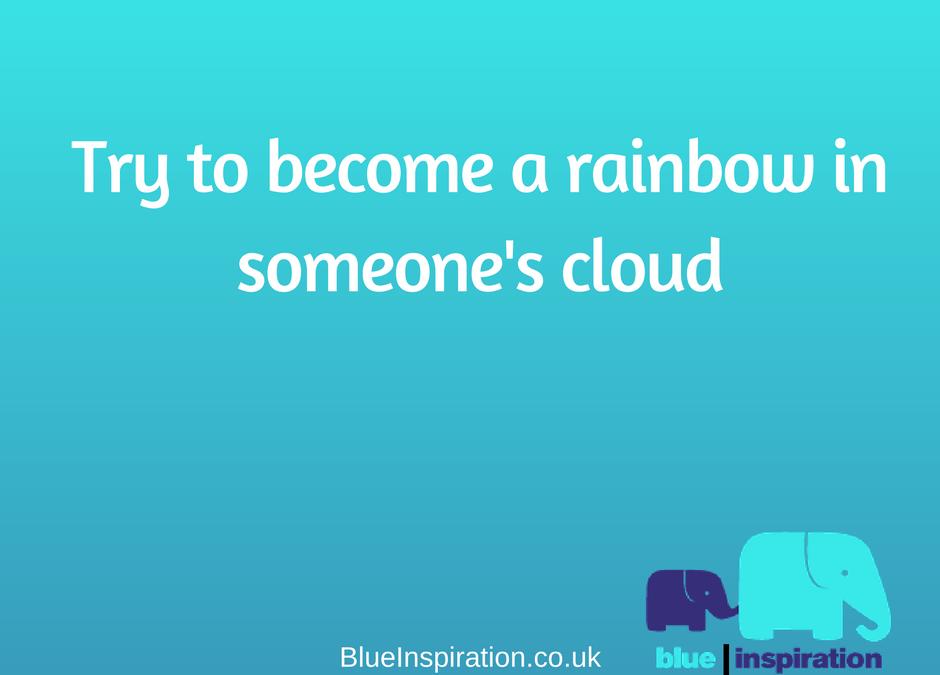 Someone's rainbow